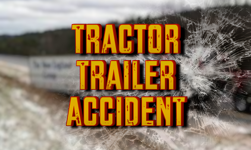 I-35 closed almost 3 hours due to tractor-trailer accident Tuesday morning