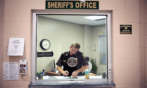 Grundy County Sheriff, Trenton, Missouri