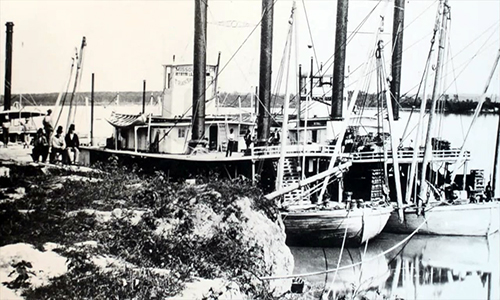 The steamboat Malta begins to reveal its 175-year-old mystery