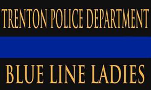 Trenton Police Department Blue Line Ladies