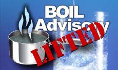 Boil Advisory Lifted