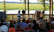 Swan Lake amphitheater