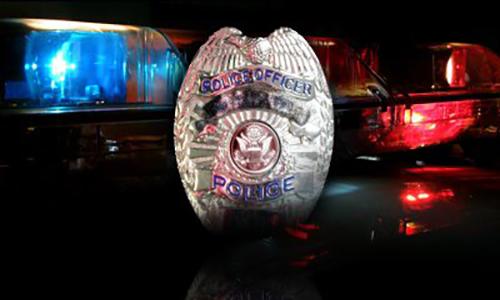 Police Badge and Lights