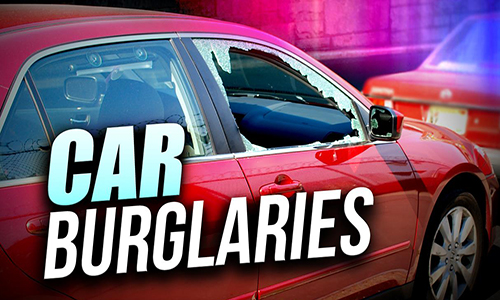 Car Burglaries graphic