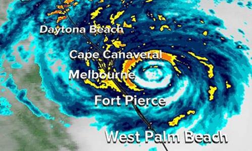 Hurricane Matthew east coast
