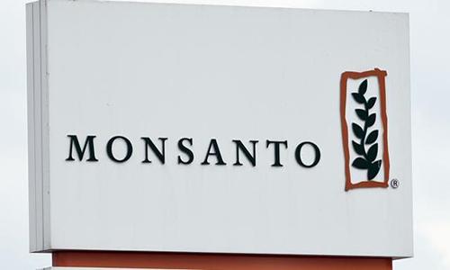 Monsanto sign