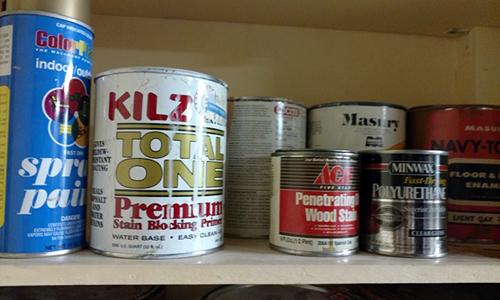 Hazardous waste in home