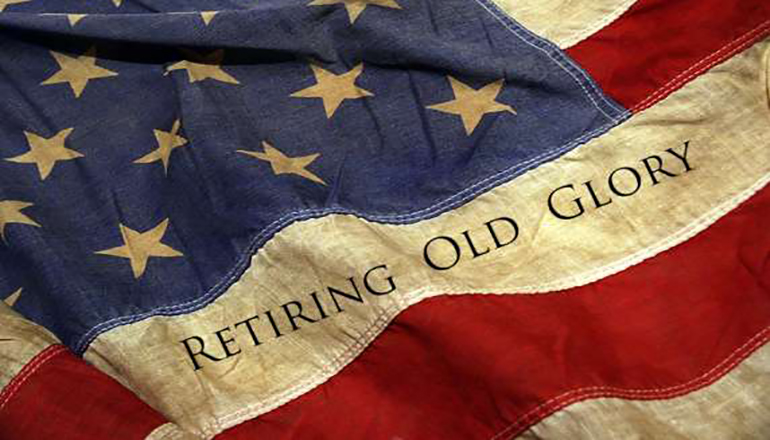 US Flag Retirement