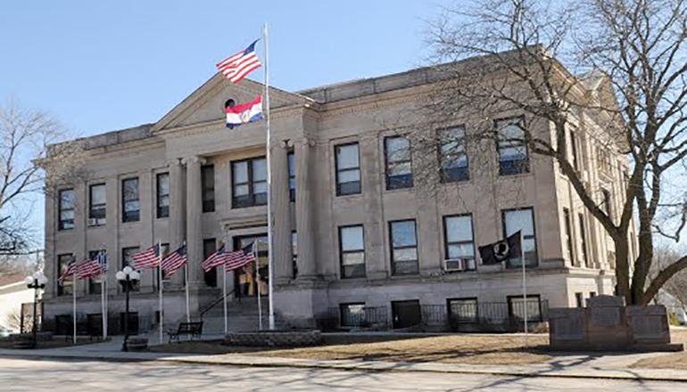 Mercer County Courthouse Princeton