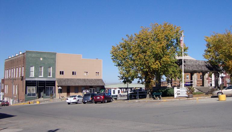 Princeton in Mercer County Missouri
