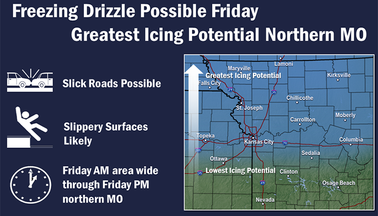 NWS Drizzle Map