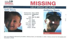 Seth Davis Missing