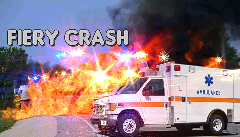 Fiery Crash Accident MSHP