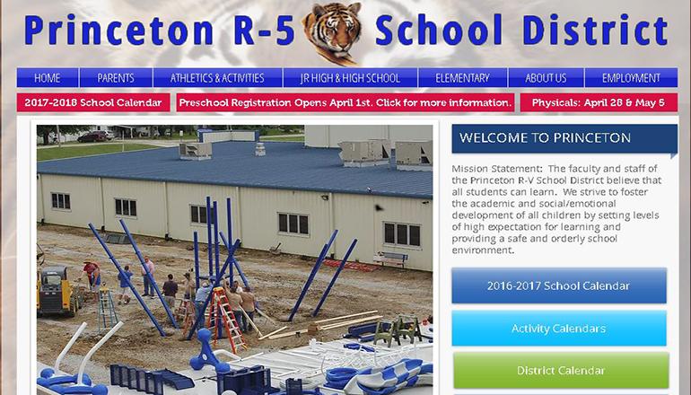 Princeton R-5 School Website