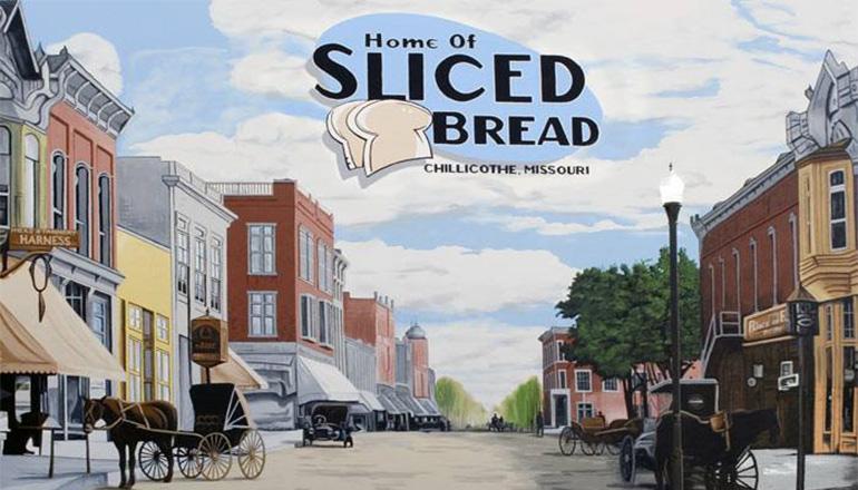 Sliced Bread Mural