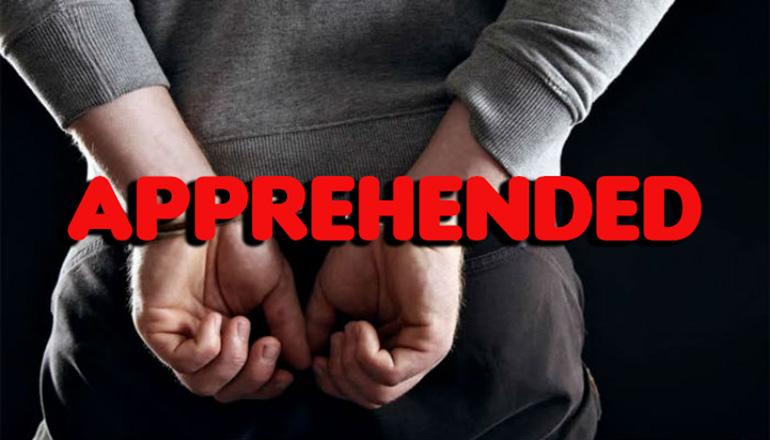 Apprehended