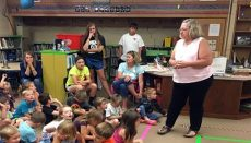 Dewey Students learn about National Dairy Month