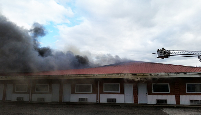 Lakeview Motel Fire