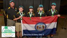 4-H Recurve Archery Team