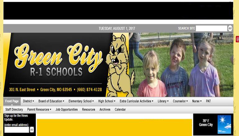 Green City R-1 School Website