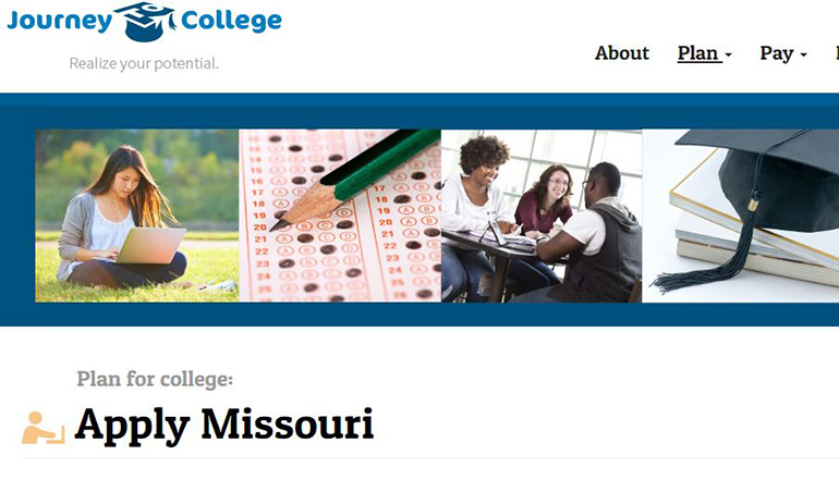 Apply Missouri Website