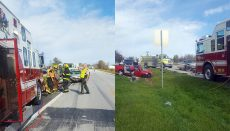 Crash on Highway 65 near Lineville, Iowa