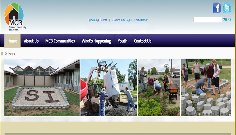 Missouri Community Betterment Website