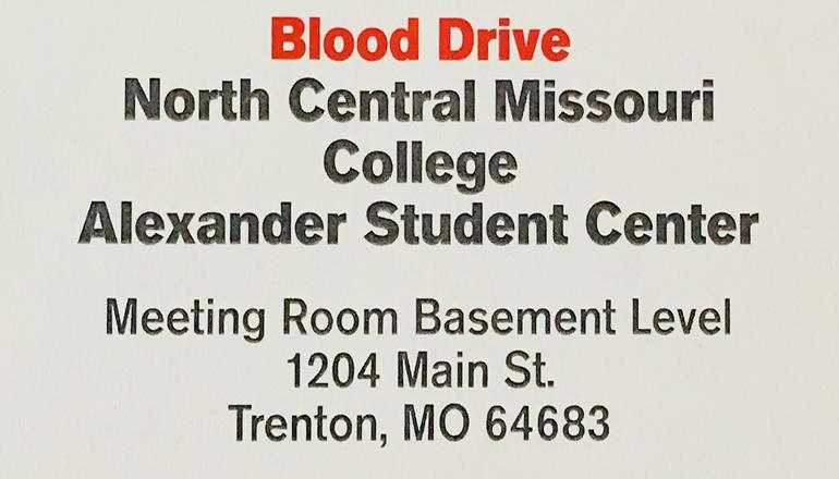 NCMC Blood Drive