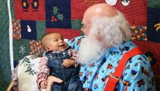 Santa at Museum