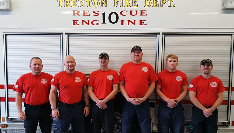Trenton Fire Department New Shirts