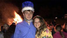 Vivian Allen Calvin Berwanger PHS King and Queen 2017