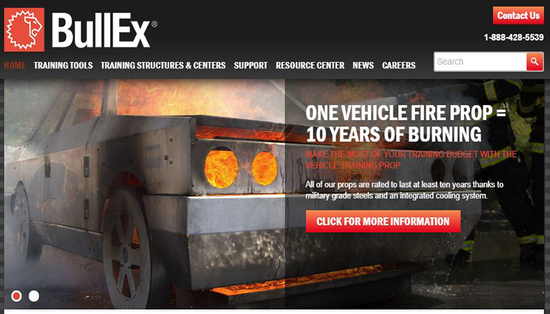 Bullex Equipment Website