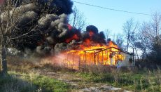 Double-Wide Fire in Tindall