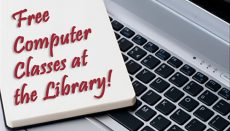 Free Computer Classes at the Library