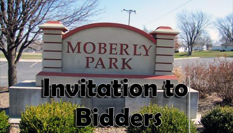 Moberly Park Trenton Missouri Invitation To Bidders
