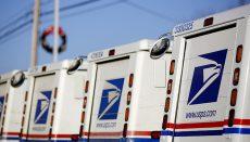 U.S. Postal Mail Trucks