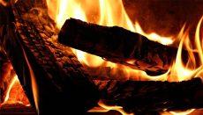 Fireplace fire (Flue)