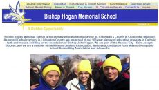 Bishop Hogan School Website