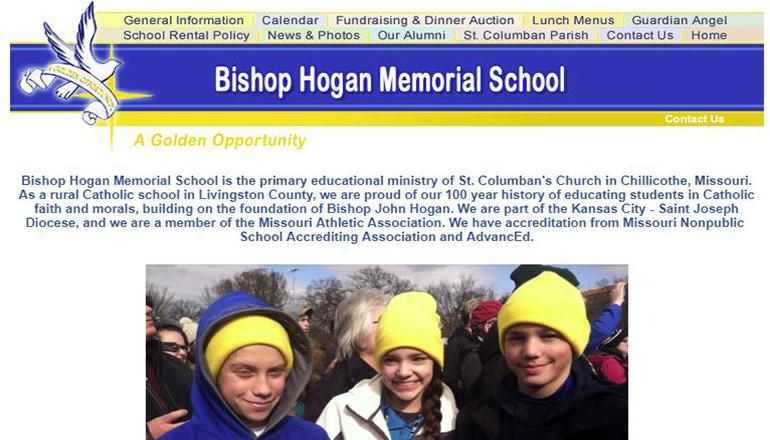 Bishop Hogan School Website
