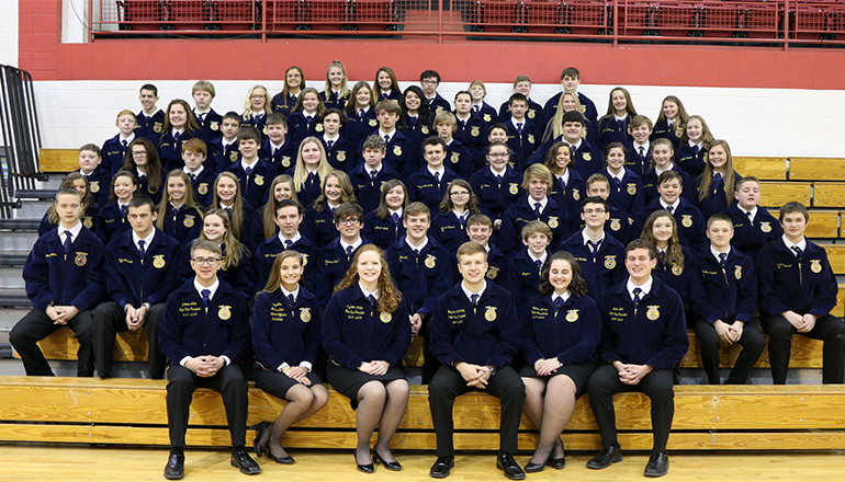 Chillicothe FFA attend Greenhand Conference