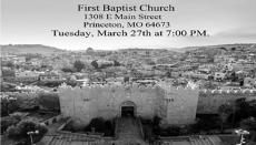 Mercer County Easter Program 2018
