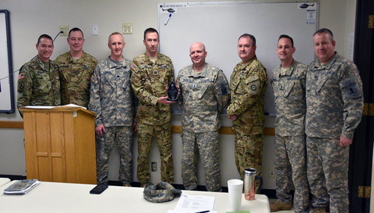 Missouri Army Guard detachment named a top unit by DoD command