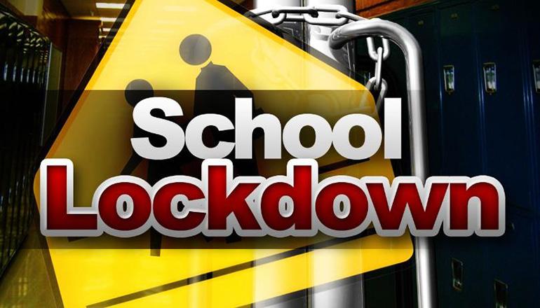 School Lockdown Graphic