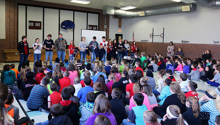 Chillicothe FFA Leadership Assembly March 2018