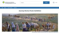 Journey Stories exhibit