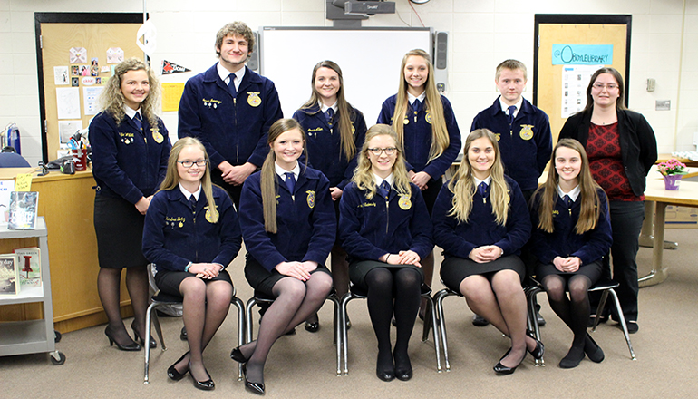 Trenton FFA Earns 8 Gold Ratings