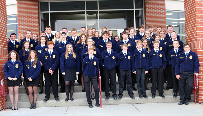 Chillicothe FFA Members attend Area II Recognition Night