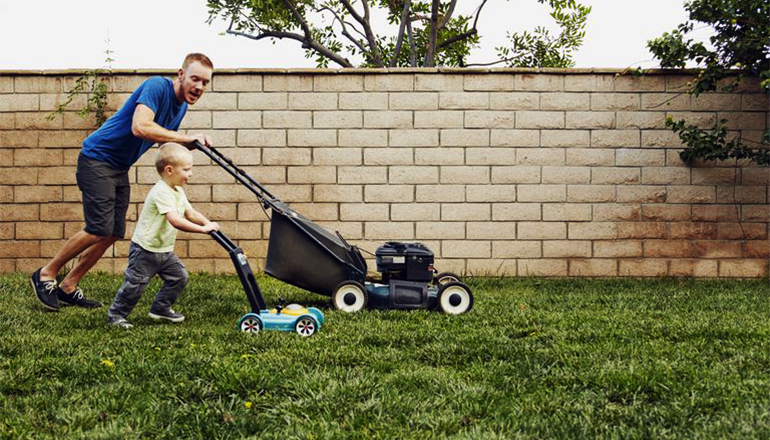 Lawn Mowing Safety with Children