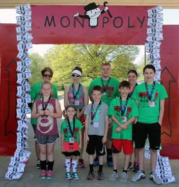 5K run Winners