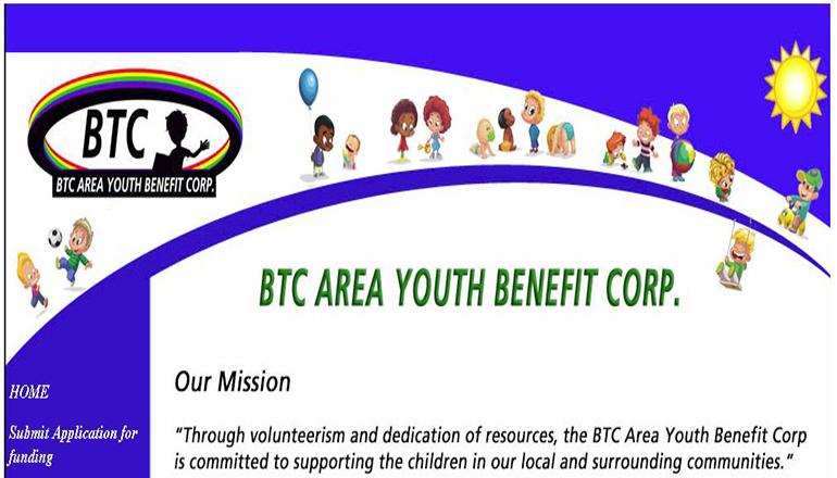 BTC Youth Benefit Website